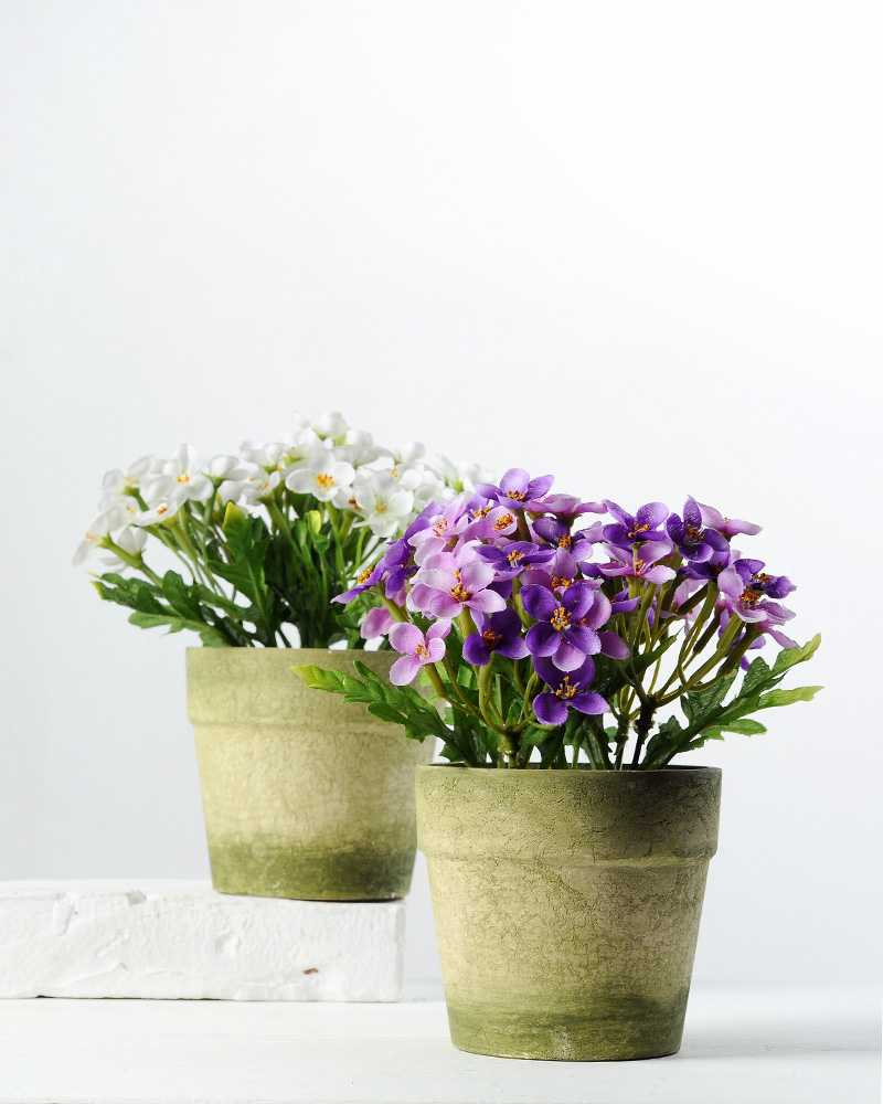 15cm azalea silk flower in paper pulp pot artificial flowers 15cm azalea silk flower in paper pulp pot mightylinksfo