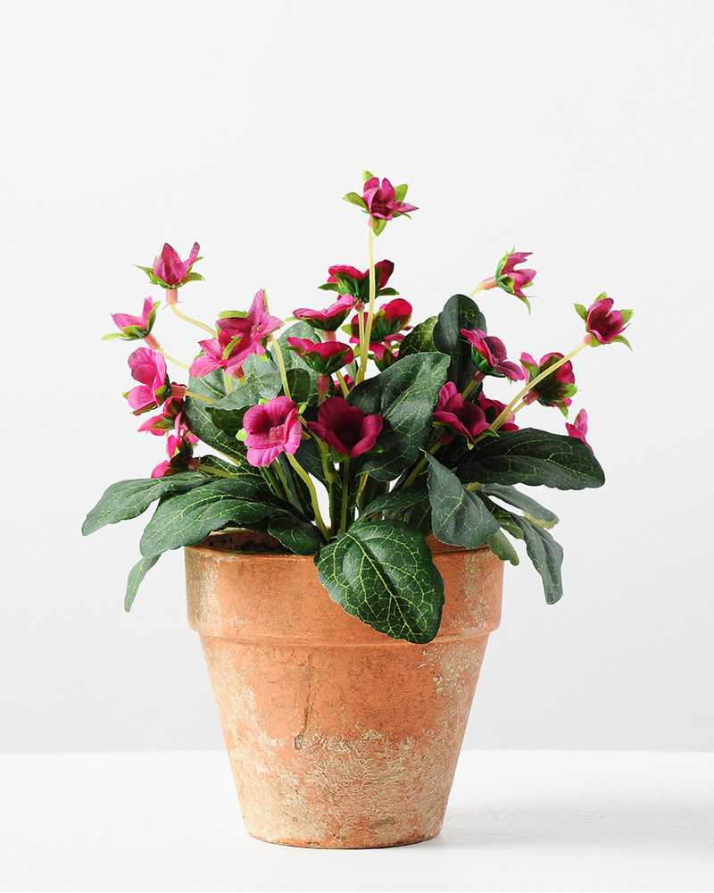 20cm mini silk wild flower silk flower in paper pulp pot mightylinksfo