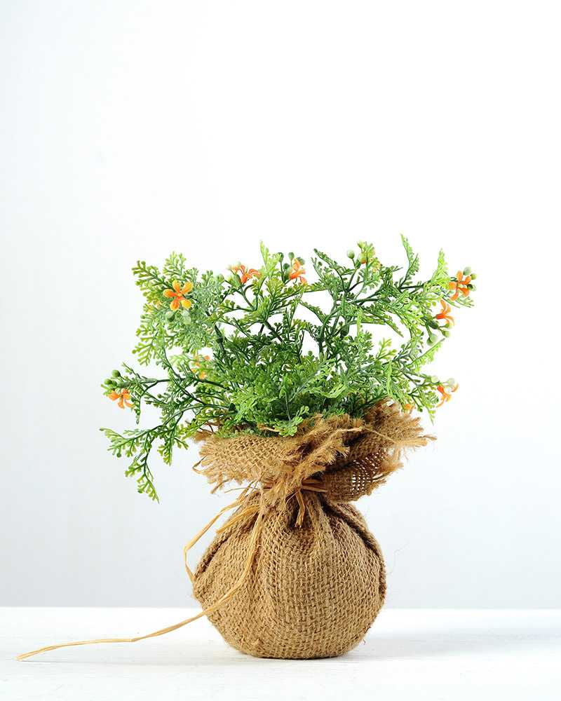 21cm wild flower silk flower in burlap wrap artificial flowers 21cm wild flower silk flower in burlap wrap mightylinksfo