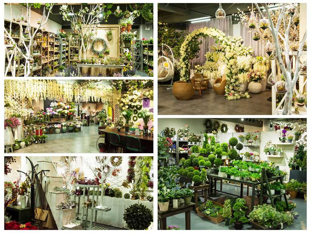 Ours ShowRoom2 1 - Ours  artificial flowers ShowRoom