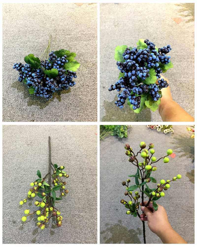 High Grade Imitation Artificial Flower Silk Flowers Fruits Plant