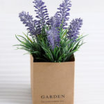 Artificial Flower 12*12*18cm Lavender in paper pot GS-03318111-Z1