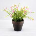 Artificial Flower 21*21*22cm Wild flower in paper pot GS-03318045