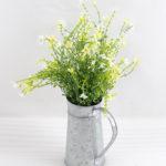 Artificial Flower 30*30*40cm Wild flowers in metal pot GS-03318088-W1