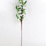 Artificial Flower 16*14*84cm olive spray + Cotton branch GS-33518011-W1