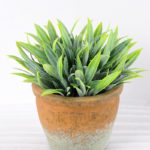 Artificial Plant H:14.5cm Grass in Paper pulp pot GS-6660689