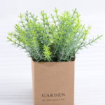 Artificial Plant 12*12*16cm Grass  in paper pot GS-03318108
