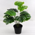 Artificial Plant 39*39*43cm Green leaf in plastic pot GS-03318154
