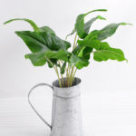 Artificial Plant Leaf in metal pot GS 03318086 150x150 - Artificial Flower 24*24*21.5cm Tulip in glass pot GS-03318065-W1