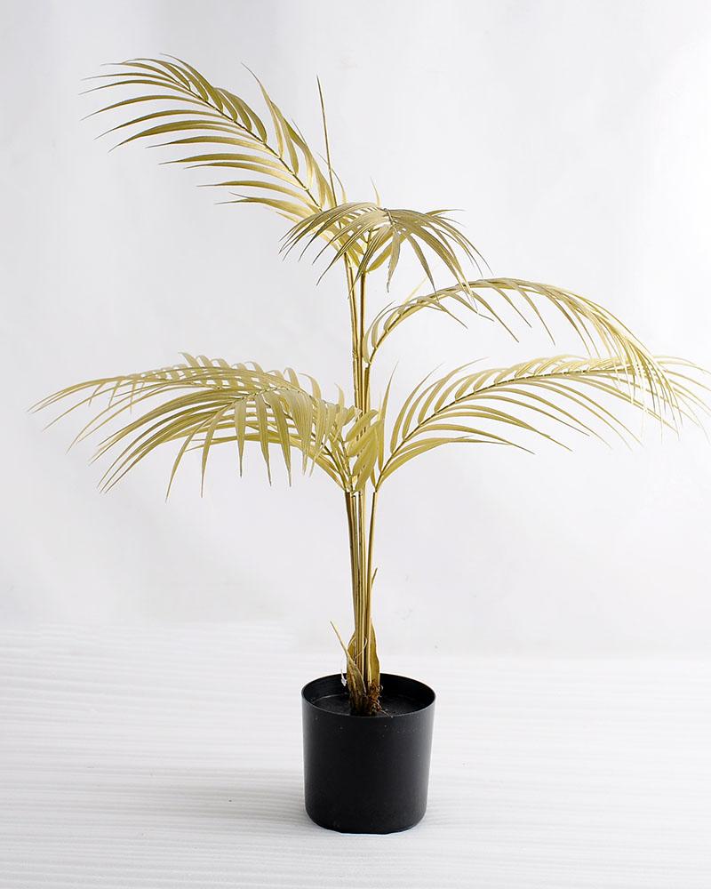 Artificial Tree 58*45*76cm Kwai leaves in plastic pot GF-07218001-J2