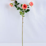 Artificial Flower 15*69CM Chinese rose spray*3 GS-53619009-P3