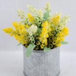 Artificial Flower 14*14*17cm Lavender in Tin pot GS-03319158-Y1