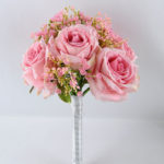 Artificial Flower 20*30CM ROSE BABYSBREATH BOUQUET*12 GS-53519004-P2