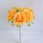 Artificial Flower 20*28CM ROSE BABYSBREATH BOUQUET*15 GS-53519010-Y1