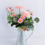 Artificial Flower 30*30*49CM flower & leaves in pot GS-52719022-P1