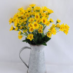 Artificial Flower 26*23*33cm mum in  Tin pot GS-03319104-Y1