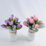 Artificial Flower 20*20*26.5cm tulip in Glass GS-03319201