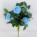 Artificial Flower 31*36CM Peony Bush*7 GS-54519001-B1