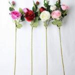 Artificial Flower 18*74CM Rose Spray*3 GS-04819003