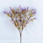 Artificial Flower 29*45CM  grass spray bush*5 GS-36619009-Z1