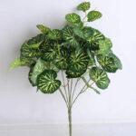 Artificial Plant Figure Begonia Leaves Bush*7/LVS50 GS-29819014