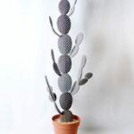 Artificial succulent 38*12*127cm cactus in plastic pot GS-45219071