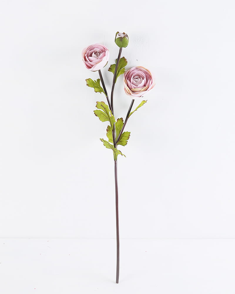 Artificial Flower 53CM Camellia spray*3 GS-128J007AUT-P1