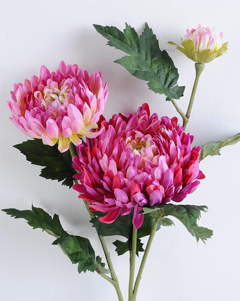 Artificial Flower H:23*71cm Chrysanthemum GS-1450113-R2