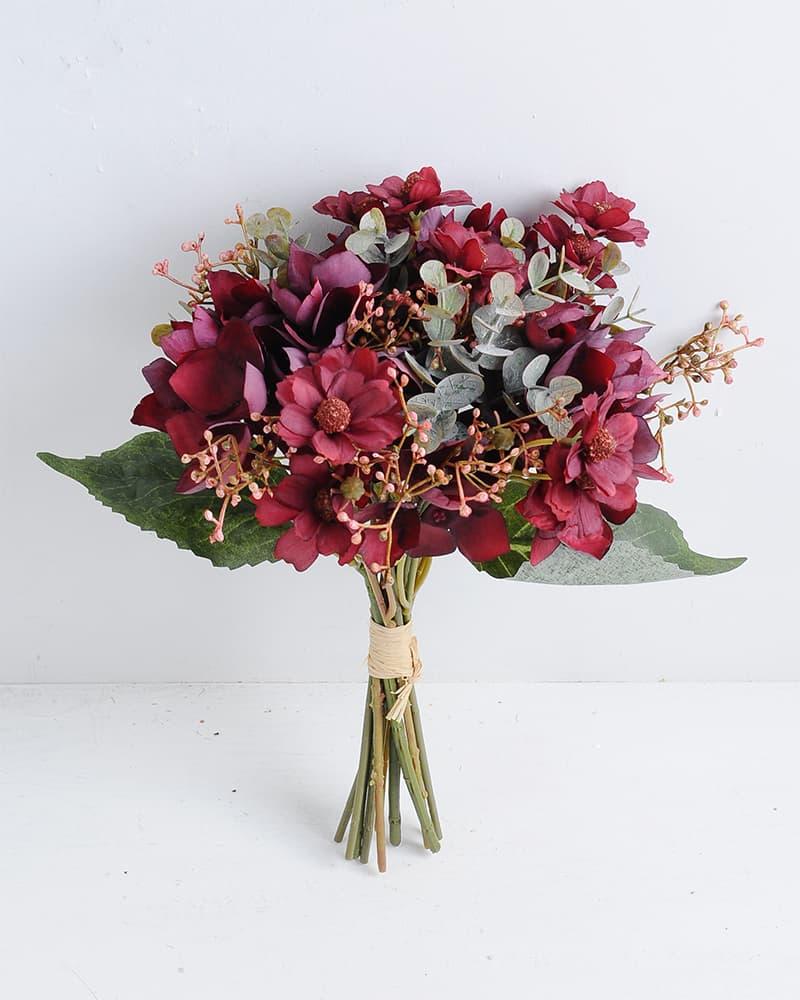 Artificial Flower 20*32cm Coreopsis and hydrangea bouquet GS-28219026-R1