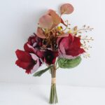 Artificial Flower 20*38cm Magnolia plumeria bouquet GS-28219025-R1