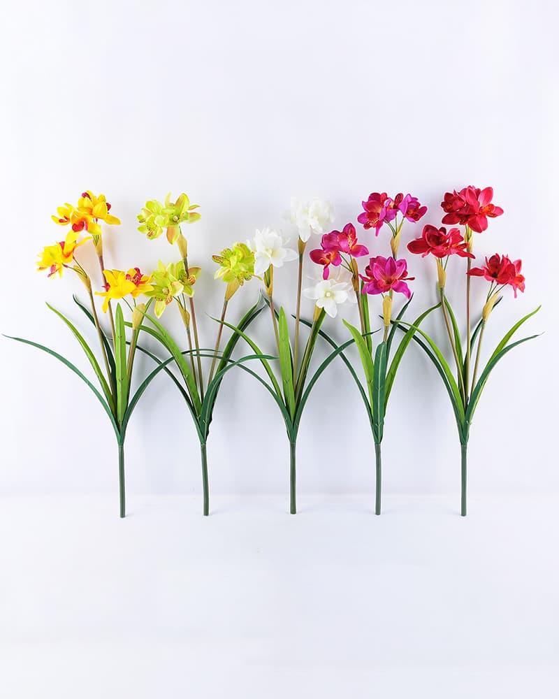 Artificial Flower 22*55cm Orchid Spray*3 GS-12819014