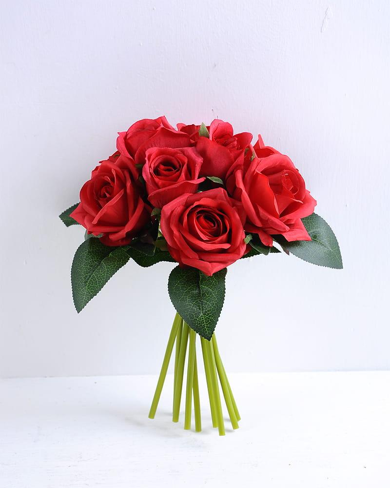 Artificial Flower 18*25CM Rose Bouquet*9 GS-37920001