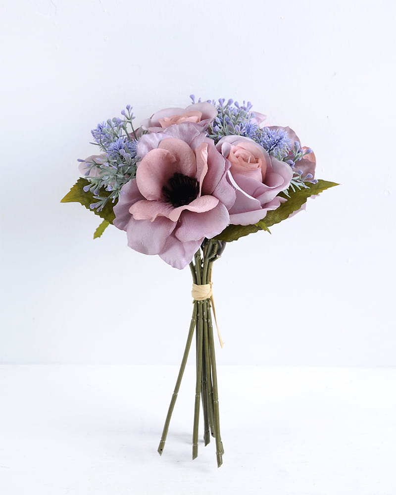 Artificial Flower 20*27CM Rose Flower Bouquet*9 GS-16819035-P1