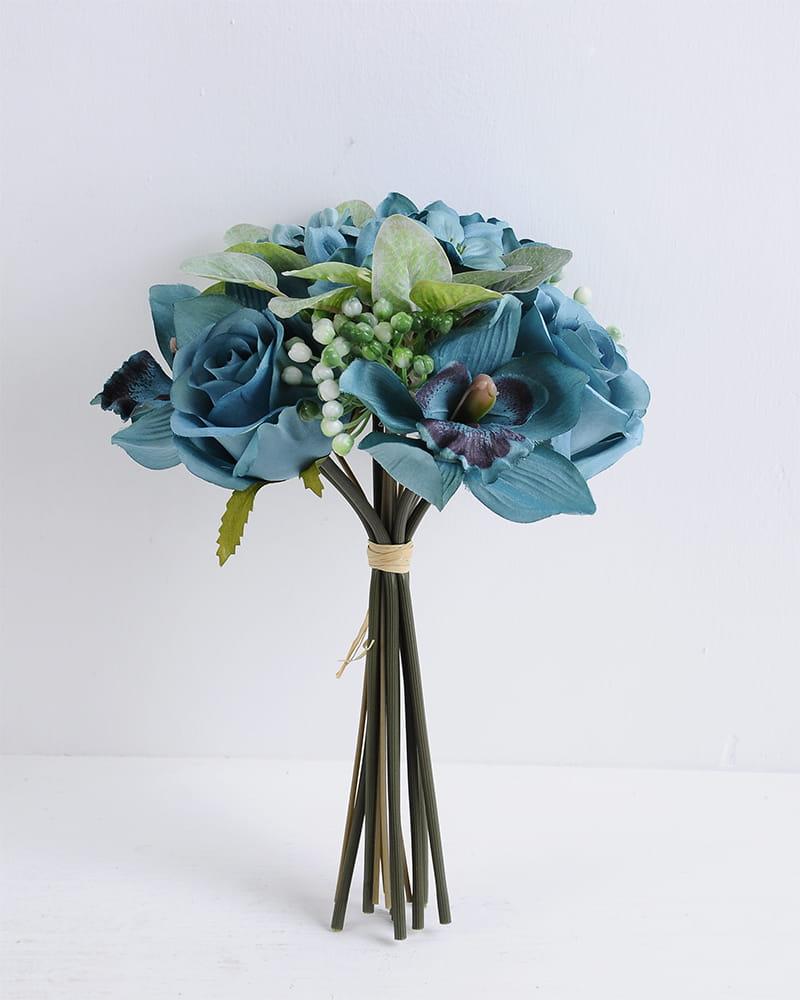 Artificial Flower 19*28CM Rose&Orchid Bouquet*9 GS-16819036-B1