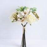 Artificial Flower 19*28CM Rose&Orchid Bouquet*9 GS-16819036-W1