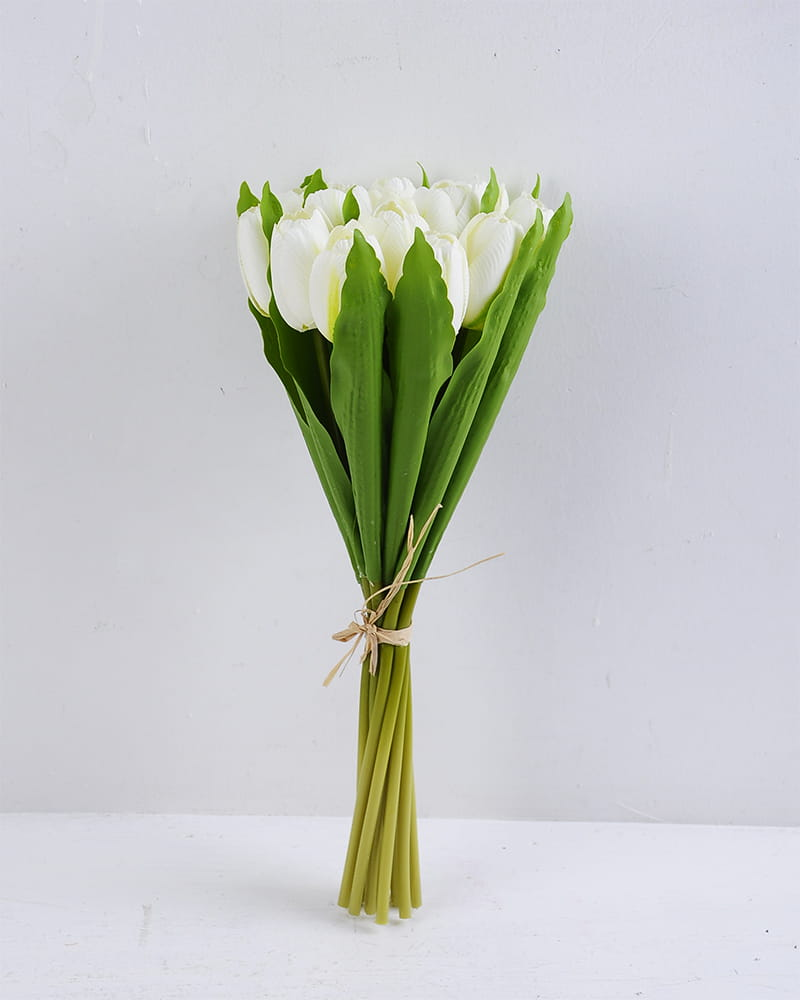 Artificial Flower 14*40cm Tulip bouquet*12 GS-12819017-W1