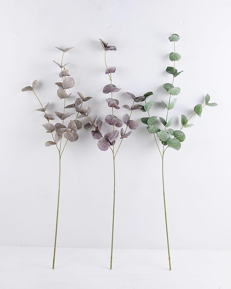 Artificial Plant 23*81cm Eucalyptus Spray*3 HT-19-041