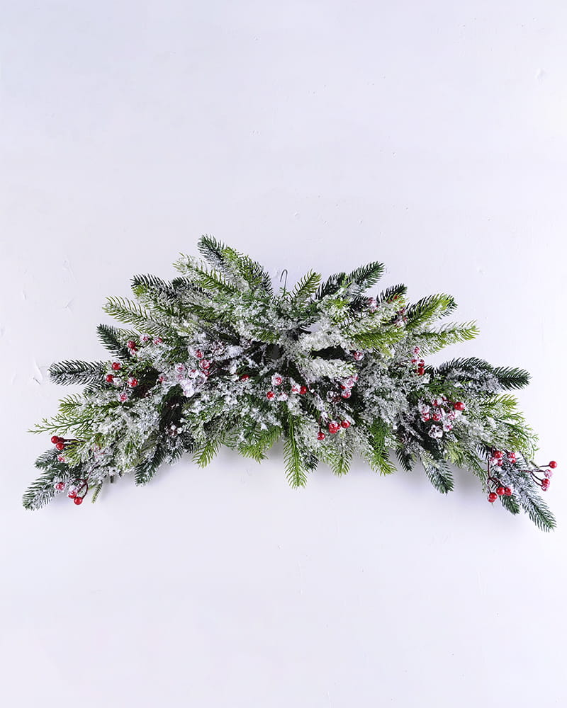 Artificial Plant 80*38*16CM Pine needle&berry hanging GS-13519004