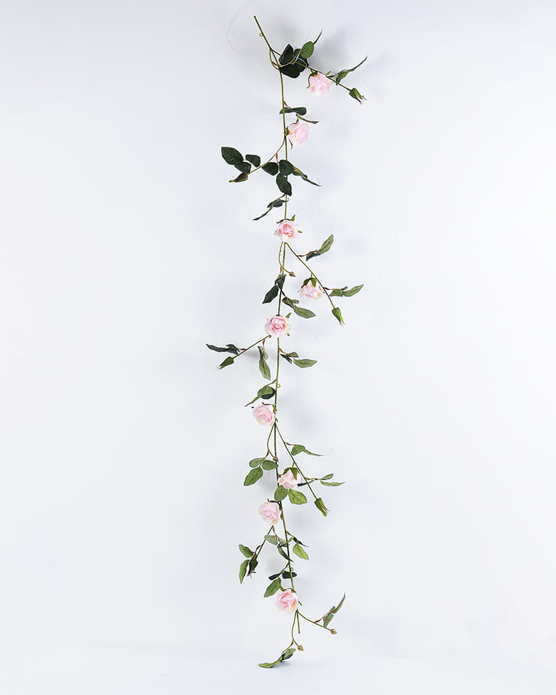 Artificial Flower 28*145CM Rose Garland GS-06920010