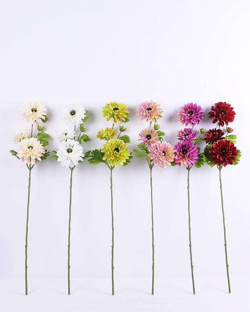 Artificial Flower 18*78CM Mum Spray*3 GS-128J20007